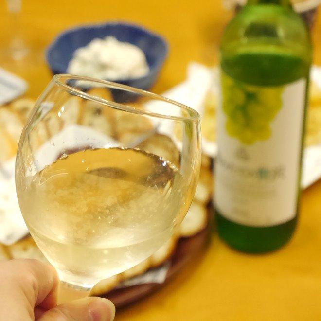 オトナの手芸部_反省会_白ワイン_up